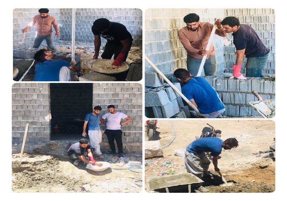 احداث منزل برای نیازمندان - شعبه بنارویه