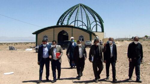بازدید مدیر کل فرهنگ و ارشاد فارس - صابر سهرابی
