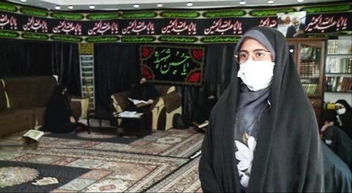زهرا حمیدی نوجواج 16 ساله رتبه 54 کارشناسی ارشد